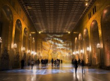 Golden Room of Stockholm City hall